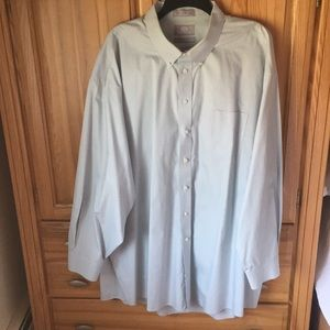 Stafford Shirts - Stafford Pinpoint Oxford Dress Shirt